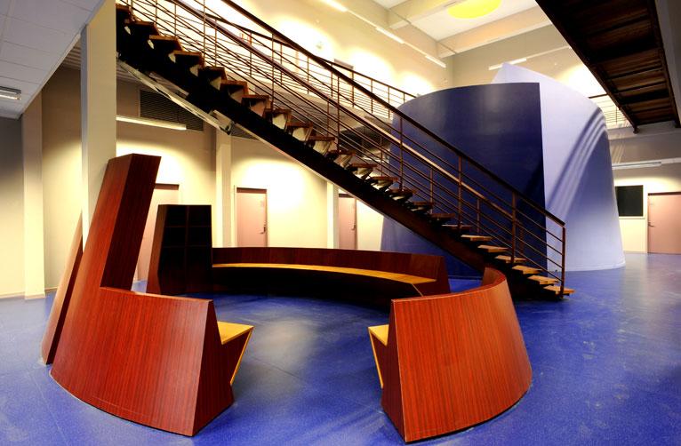Architecture intérieure et fonctions