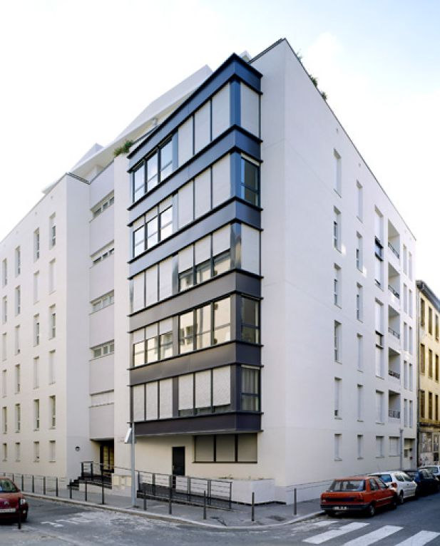 Architecture ext rieure et int gration au site for Couleur de facade moderne