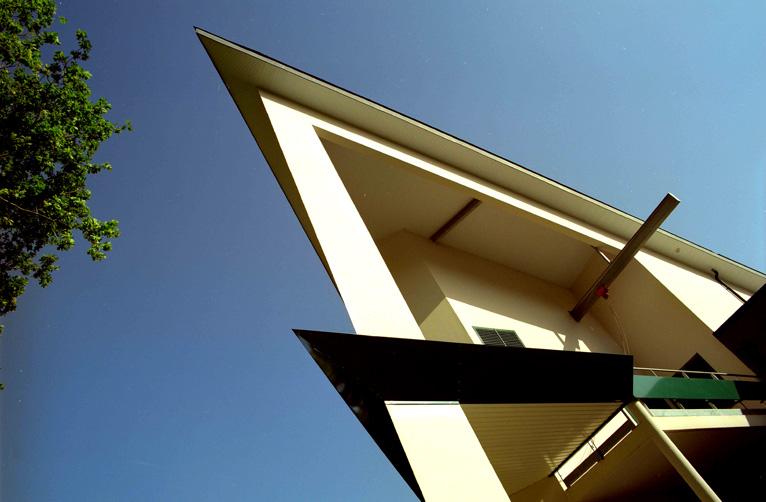 Balcon avec angle