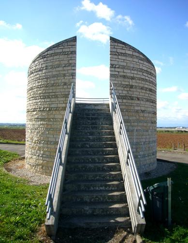 Observatoire avec escalier