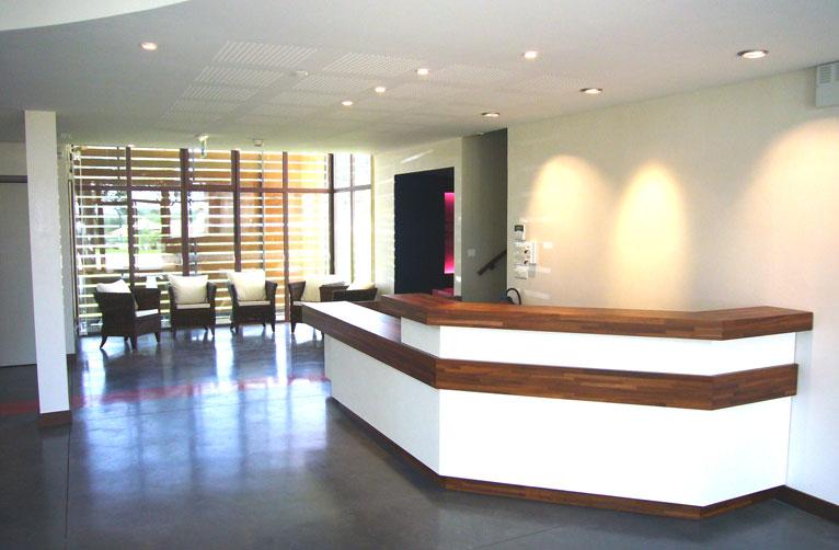 Salle de réception et d'attente
