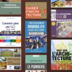 Les 28 meilleurs livres: architecture, construction, immobilier, métiers du bâtiment