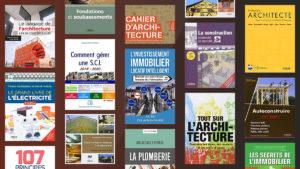 Les meilleurs livres: architecture, construction, immobilier, métiers du bâtiment